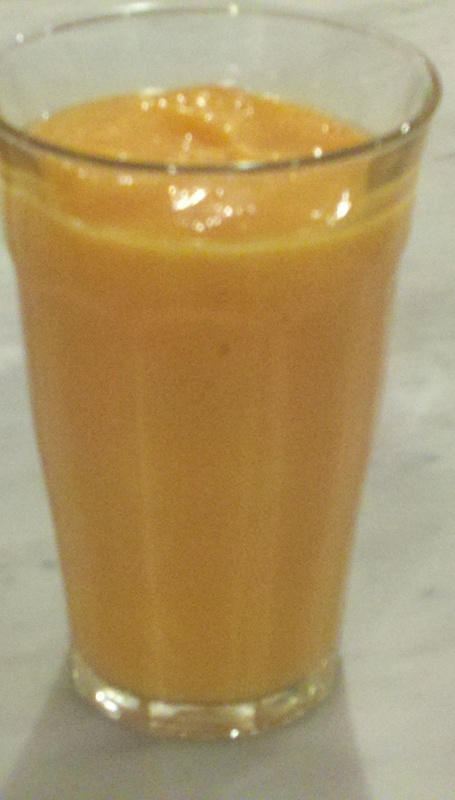 mango papaya smoothie
