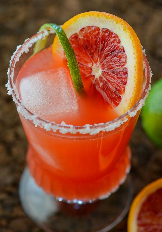 blog blood orange margarita
